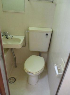 【トイレ】ロッジ・サンフラワー