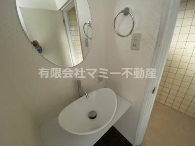 【洗面所】久保田2丁目店舗I