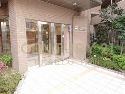 【エントランス】ディークラディア茨木駅前