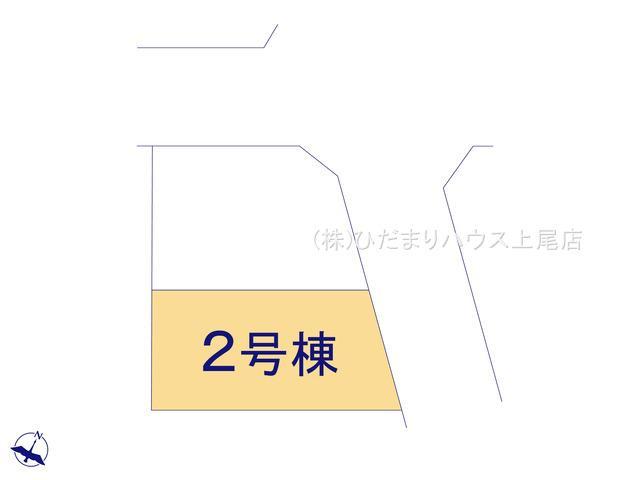 【区画図】北区吉野町 20-1期 新築一戸建て リナージュ 02