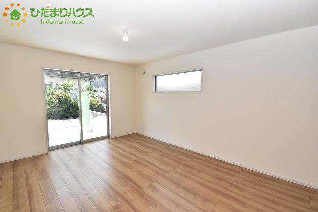 大きなリビングはどんな家具を配置するか楽しみになりますね!