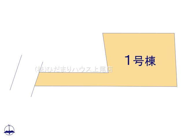 【区画図】見沼区小深作 5期 新築一戸建て グラファーレ 01