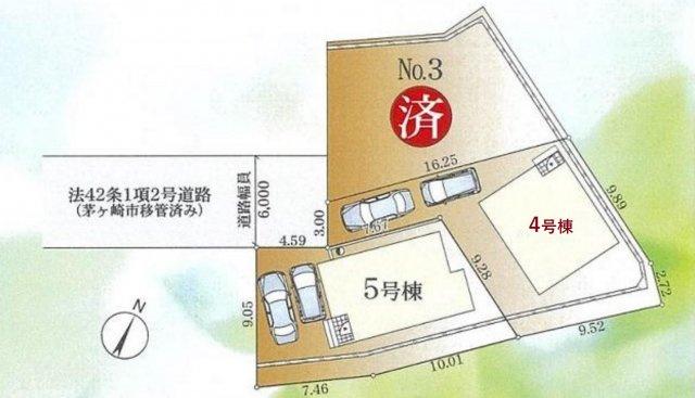 【区画図】新築 茅ヶ崎市香川第20 4号棟