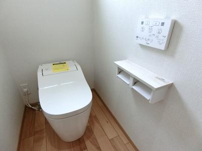 トイレはパナソニック製のアラウーノ。