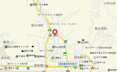【地図】祝谷戸建て