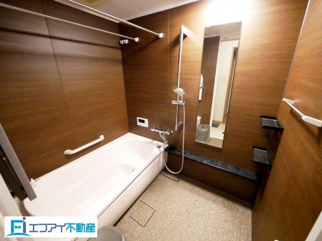 清潔感のある広々とした浴室です。 2020年4月交換済。