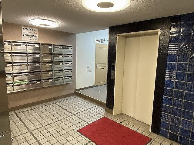 【ロビー】横浜ハイツ