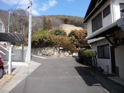 【前面道路含む現地写真】津島福居土地
