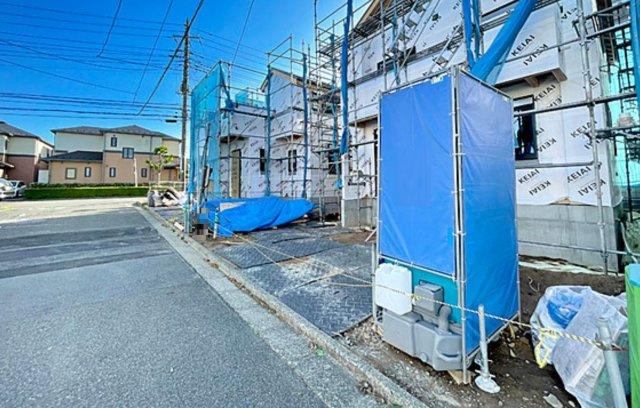 【前面道路含む現地写真】新築 藤沢市大庭 2号棟