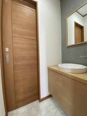 2階トイレ手洗い場