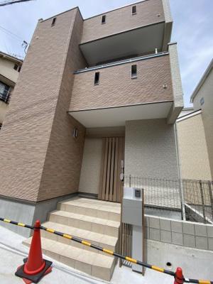 【外観】灘区赤坂通6丁目 新築戸建て