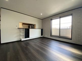 【居間・リビング】灘区赤坂通6丁目 新築戸建て
