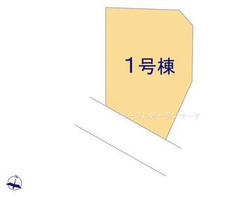 【区画図】新築 新潟市東区中興野第1 1号
