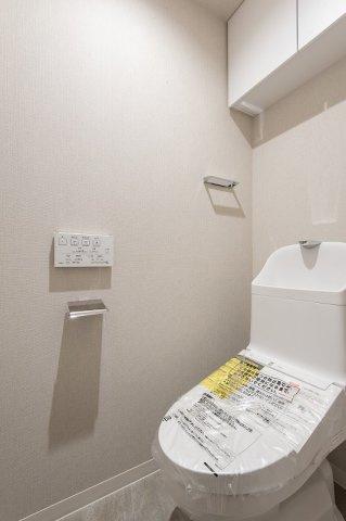 スカイコート日本橋浜町公園:ウォシュレット機能付きトイレです!
