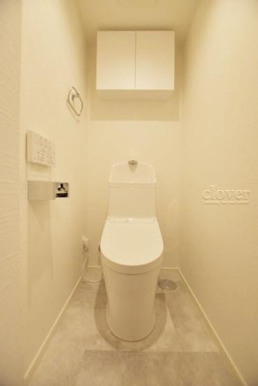 トイレ 温水洗浄便座付 上部収納あり