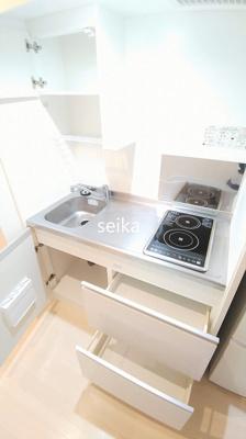 【キッチン】クレイノT ⽩鷺