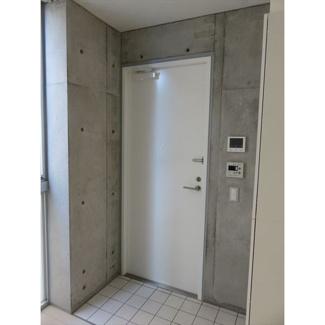お洒落な玄関です