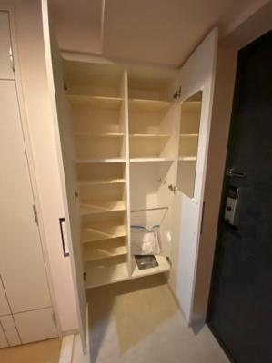 専用の収納スペースです