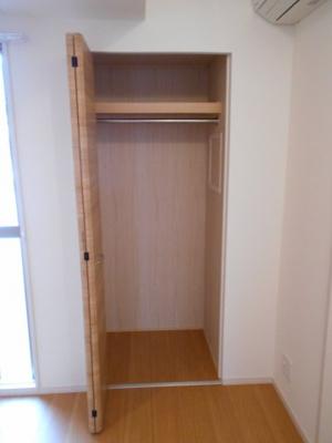 4.6帖の洋室の収納スペース
