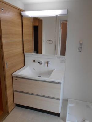 三面鏡独立洗面台