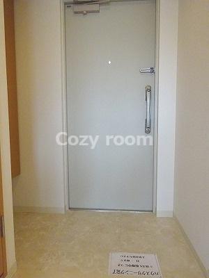 広くて」ゆったりとした玄関です。