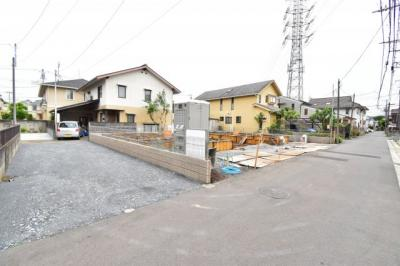 【前面道路含む現地写真】A143 新築戸建て 小金井市東町1丁目 1号棟