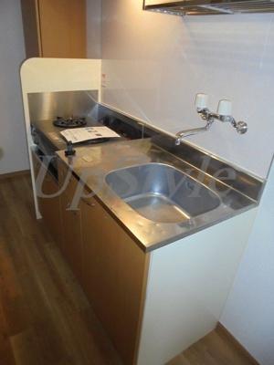 【キッチン】210アパートメントB