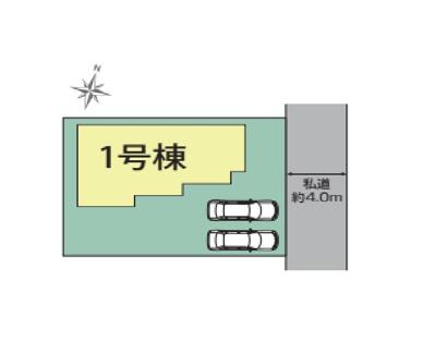 【区画図】三島市大場 全1棟