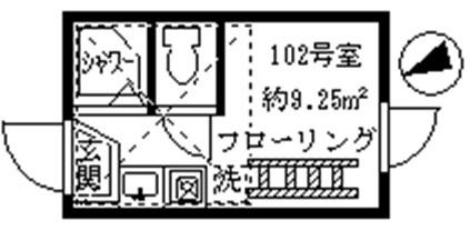 ロフト付のワンルーム★