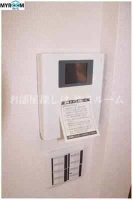 TVモニター付インターホン☆オートロック付(同一仕様写真)