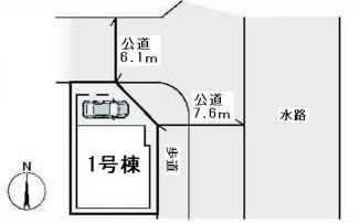 【区画図】高槻市城南町4丁目