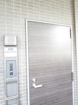 落ち着きのある玄関扉