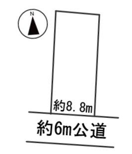 【区画図】56016 岐阜市福光東土地