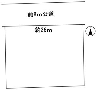【区画図】56224 岐阜市八代土地
