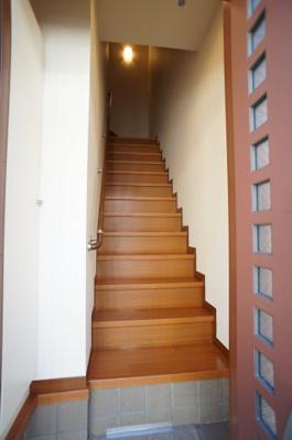 専用階段♪