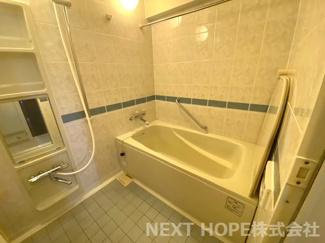 浴室です♪一日の疲れを癒してくれます!!