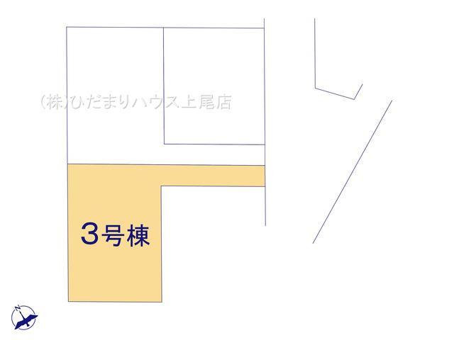 【区画図】伊奈町栄 第1 新築一戸建て リーブルガーデン 03