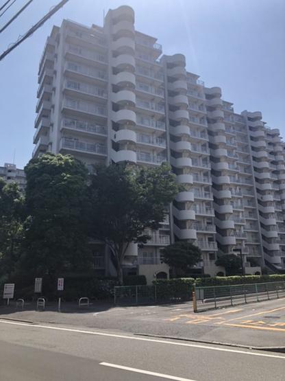 【外観】新多摩川ハイム6号棟
