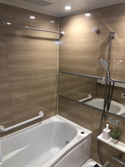 【浴室】新多摩川ハイム6号棟
