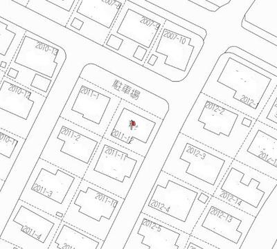 【地図】郡山町中古戸建