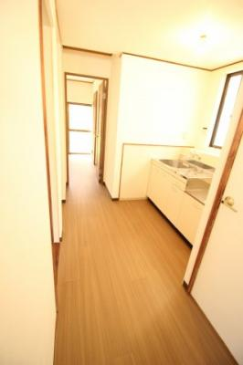 【キッチン】山本町北2丁目戸建 テラスハウス