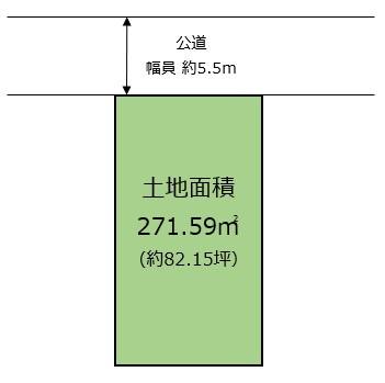 【区画図】甲風園2丁目 中古戸建