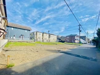 【前面道路含む現地写真】売地 辻堂元町 5丁目 お好きな間取りで建築できます♪