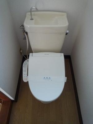 児島上の町 戸建て 2DK トイレ