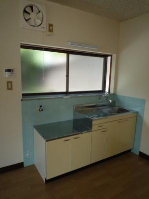 児島上の町 戸建て 2DK キッチン