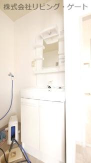 嬉しい独立洗面台もあります。
