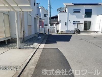 【前面道路含む現地写真】堺市西区太平寺 戸建