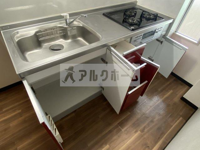 メゾンドルチェ伸和(柏原市法善寺) キッチン