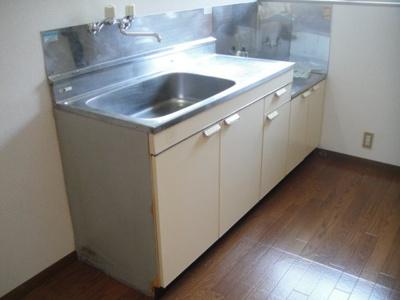 【キッチン】ハイツオグラ