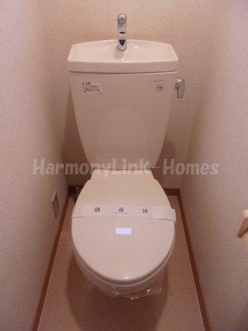 メゾン リヴィエールのシンプルで使いやすいトイレです☆